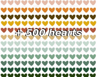 Get 500 digital hearts and present bonus +500 Favorites for One of Your Etsy Shop Items, Etsy Relevancy Increase