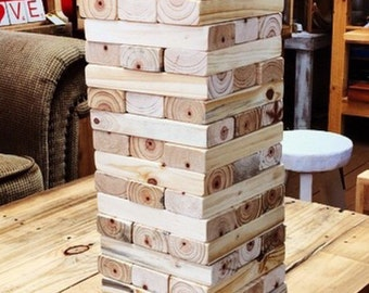 Pallet Giant Jenga / Tumbling Blocks in a Sack - Shipping NOT Included