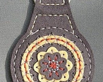 Felt Keychain, Handmade Keychain,  Key Ring, Felt Key Ring, Handmade Key Ring