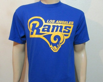 Los Angeles Rams Front Print Only T-Shirt / Free Shipping!!