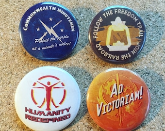 Fallout 4 faction buttons