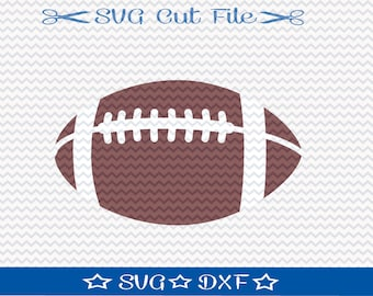 Football SVG file / SVG Cut File for Silhouette / Super  Bowl SVG / Superbowl svg / Sports svg