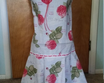 1960s Drop Waist Dress