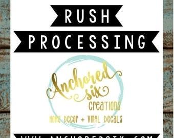 10% OFF AO0002 - Rush Processing