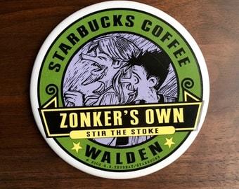 Starbucks Doonesbury Collectible Coaster