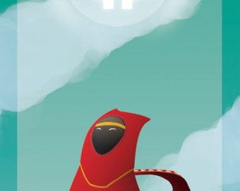 Journey Traveler from Journey the Game Bookmark