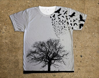 The Raven - All Over Tee Tshirt