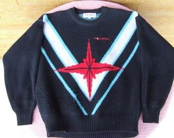 Vintage Polaris snowmobile sweater