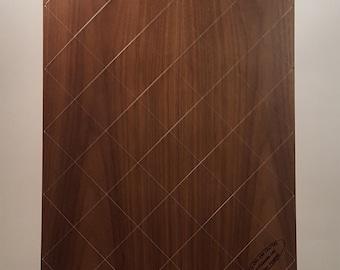 myPicboard - Multiple Picture Frame - Dark Walnut