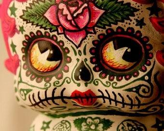Betty Deadey Boop Dia De Los Muertos PRINT #315 from Artwork by Michael Brown