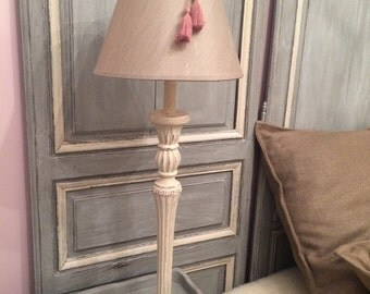 Lamp patinated