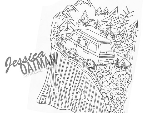Items similar to Camping Coloring Page Coloring Pages