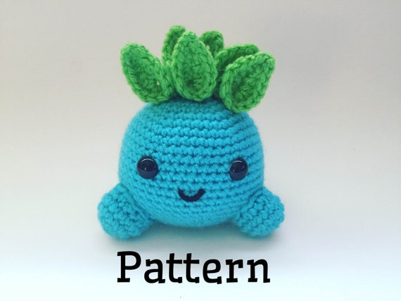 Crochet Oddish Pattern