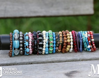 Collection of bracelets