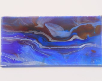 Water and Sky - Resin Painting on Canvas