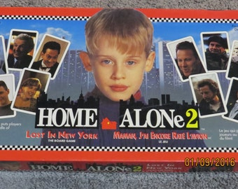 Vintage Home Alone 2 Board Game 1992