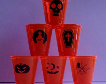 Halloween Shot Glasses - 50 shot glasses per pack