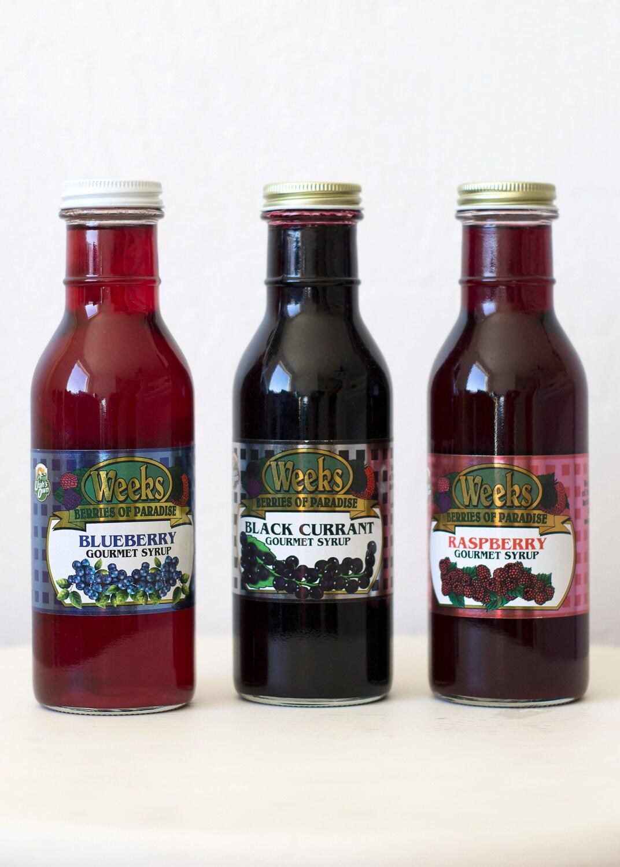 All Natural, Organic, Gourmet Raspberry Syrup - Utah's Own
