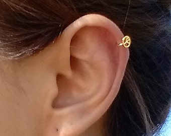 Peace One Touch Piercing Earring