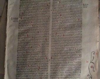 Original 1528 Augustine Leaf Bible