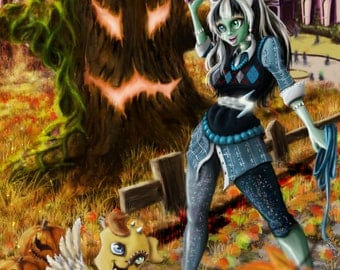 Monster High Frankie Stein: A Ghoul and Her Dog