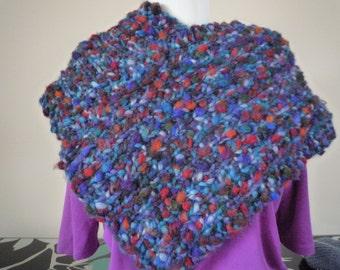 Multicoloured collar / shawl