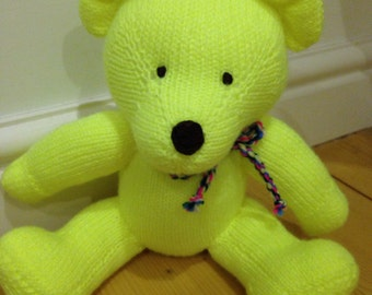 Hand Knitted Teddy Bears