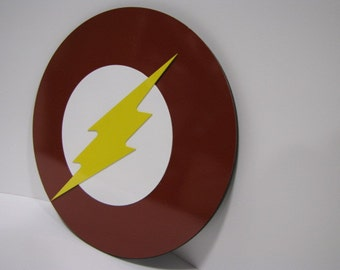 Flash wall mounted emblem