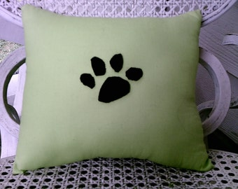 Green Pet Pillow