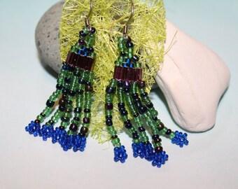 Ocean waterfall earrings