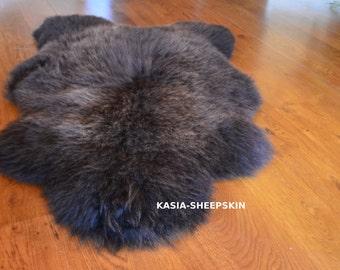 Brown Sheepskin Rug, High Quality, Super Soft, Natural Sheepskin Rug