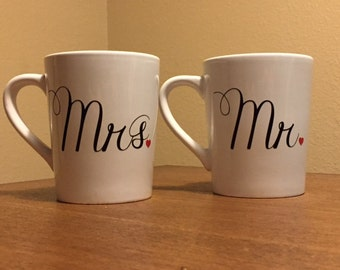 Engagement mugs