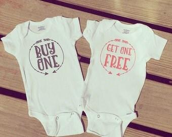 BOGO Twins Onesie Set