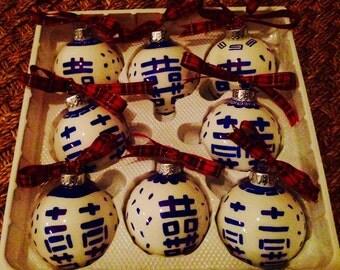 Chinoiserie Ornament - Happiness Symbol Design