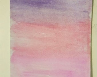 Watercolor - Red, pink, purple