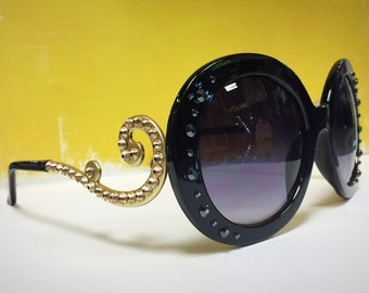 Swarovski crystal sunglasses
