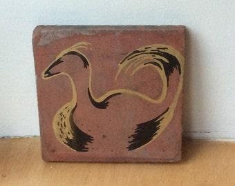 Duck Art Tile
