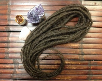 10 Double Ended Synthetic Dreadlocks