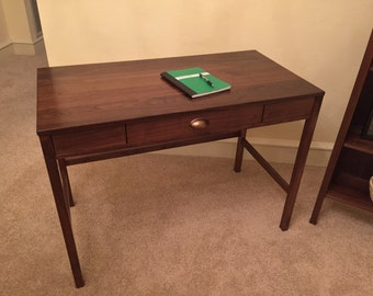 Handmade Wood Desk with Drawer