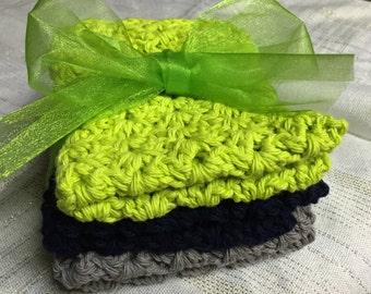 Hand Crocheted Dishcloths