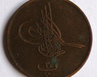 20 par of 1867 of Egypt