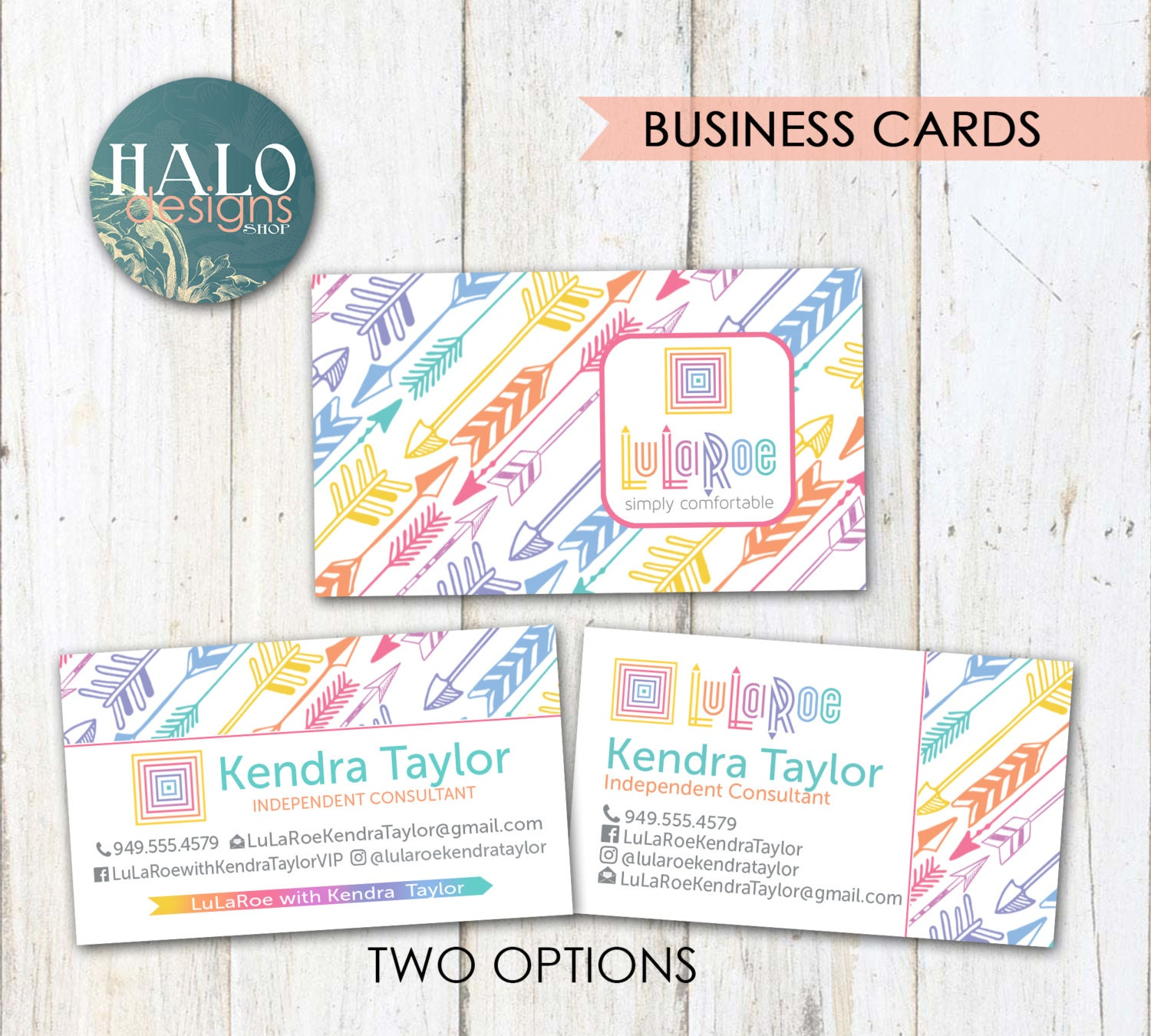 Lularoe business cards business cards thank by halodesignsshop for Lularoe name cards
