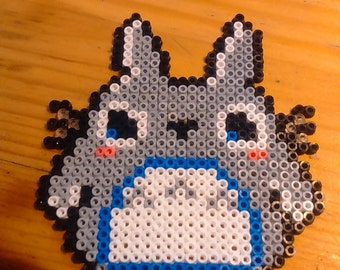 Totoro Pixel Art beads mini Hama