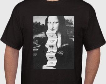 Trippy MonaLisa Tshirt