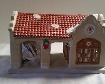 Texaco Town Filling Station-ceramic