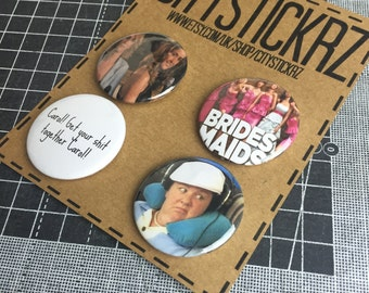 BRIDESMAIDS INSPIRED BADGES