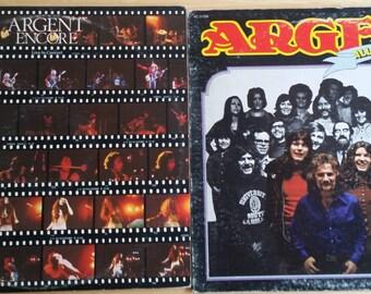 Argent - All Together Now / Encore - KE 31556 / PEG 33079 - 1972 / 1974 - VG+