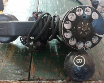 Vintage Telephone Linesman Repair Rotary Phone