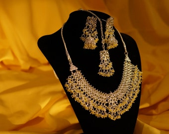 Polki Set (Earings and Necklace