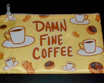 TWIN PEAKS Damn Fine Coffee multi-purpose bag